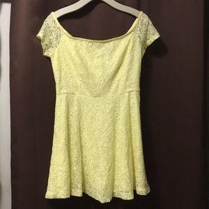 Forever 21 yellow summer dress!